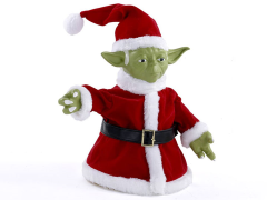 Star Wars Santa Yoda Treetopper