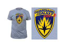 Marvel Guardians of the Galaxy Vol. 2 Shield T-Shirt