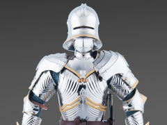 Gothic Armour 1/6 Scale Figure (Silver Version)