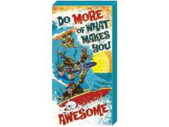 "TMNT ""Do More of..."" Inspirational Canvas Art"