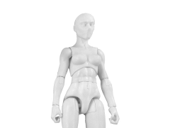 Vitruvian H.A.C.K.S. Female Figure Blank (Cloud White)