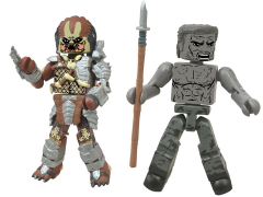 Predator Minimates Series 1 Muddy Dutch vs. Battle Cry Predator