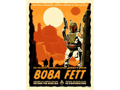 Star Wars Jabba's Prize Art Print