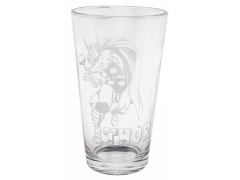 Marvel Comics Etched Pint Glass - Thor