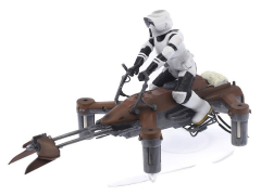 Star Wars 74-Z Speeder Bike Drone Collectors Edition