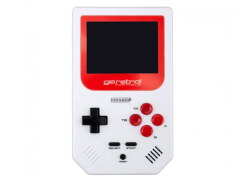 Go Retro! Portable (White & Red)