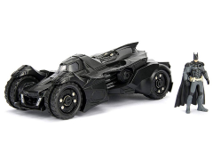 Batman: Arkham Knight Metals Die Cast 1/24 Scale Batmobile & Batman