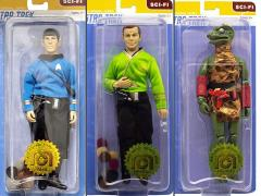 "Star Trek: The Original Series Wave 2 Set of 3 Mego 8"" Figures"
