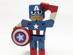 Marvel Wood Warriors - Captain America