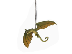 Game of Thrones Rhaegal Dragon Ornament