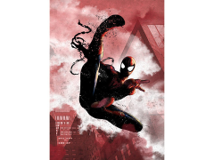 Marvel Dark Edition Spider-Man Displate Metal Print