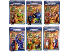 Masters of the Universe ReAction Figures Wave 2 Set of 6