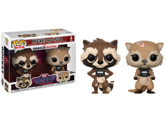 Pop! Games: Guardians of the Galaxy: The Telltale Series - Rocket & Lylla Two Pack