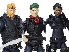 G.I. Joe 50th Anniversary Wave 1 Special Forces Squad Three Pack BBTS Exclusive