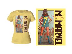 Marvel Ms. Marvel Stand T-Shirt (Womens)