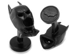 The Dark Knight 3D Batman Cowl Cufflinks