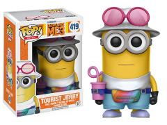 Pop! Movies: Despicable Me 3 Tourist Jerry