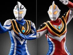 Ultraman Ultimate Luminous Premium Ultraman Gaia & Ultraman Agul Exclusive Set