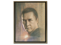 Star Wars Timeless Series Chirrut Framed Canvas Print (Rogue One)