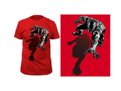 Marvel Black Panther Shadow T-Shirt