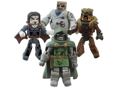 Marvel Minimates Zombie Villains Series 2 Four Pack