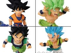 Dragon Ball Super: Broly World Collectable Diorama Vol.4 Set of 4 Figures