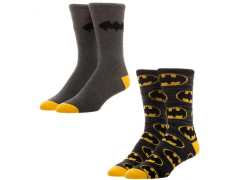 Batman Crew Socks 2 Pack