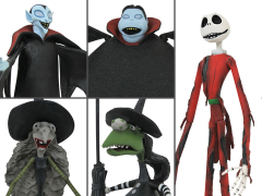 The Nightmare Before Christmas Select Series Wave 8 Set of 3 Figures