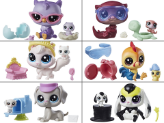 Littlest Pet Shop Pet Pairs Series 1 Set of 6