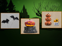 Harry Potter Halloween 1/6 Scale Limited Edition Accessory Pack
