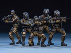 Dark Source Soldier Series Tiger Tracker 1/24 Scale Figure Set