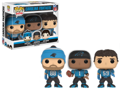 Pop! Football Three Pack Carolina Panthers Exclusive