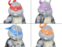 TMNT Hybrid Metal Figuration Mini-Figure Set of 4 SDCC 2016 Exclusive