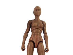 Vitruvian H.A.C.K.S. Female Figure Blank (Walnut Brown)