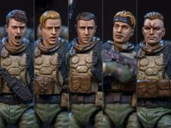 Dark Source Soldier Series Rescue Team 1/24 Scale Figure Set
