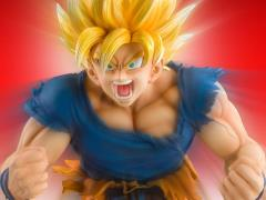 Dragon Ball Z Kai Chozo Art Collection Super Saiyan Goku