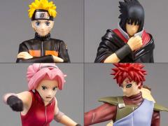 Naruto Shippuden Standing Character 1/12 Scale Figures Set of 4
