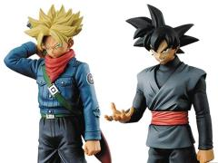 Dragon Ball Super DXF Warriors Volume 02 - Set of Super Saiyan Future Trunks & Goku Black