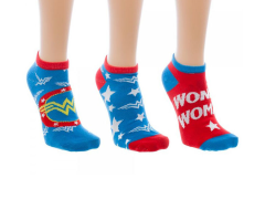 Wonder Woman (Classic) Ankle Socks 3 Pack
