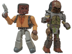 Predator Minimates Series 1 Harrigan vs. City Hunter Predator