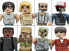 The Walking Dead Minimates Series 8 Two Pack Set of 4