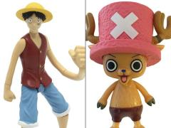 One Piece Monkey D. Luffy & Tony Tony Chopper Action Figure Set