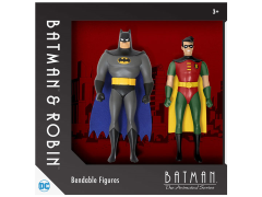 Batman The Animated Series Bendable Figure Two Pack