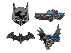 DC Comics Batman Enamel Pin Set