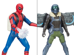 Spider-Man: Homecoming Spider Web City Feature Figure Wave 01 - Set of 2
