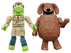 The Muppets Minimates Series 2 Reporter Kermit & Rowlf