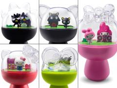 "Hello Sanrio 4"" Figure Capsule Diorama Set of 5"