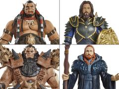 "Warcraft 6"" Figure Wave 01 - Set of 4"