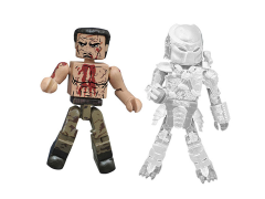 Predator Minimates Series 2 Final Battle Dutch & Cloaked Jungle Predator