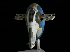 Star Wars 1/144 Scale Model Kit - Slave I (Jango Fett)